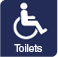 It offers accessible toilets.